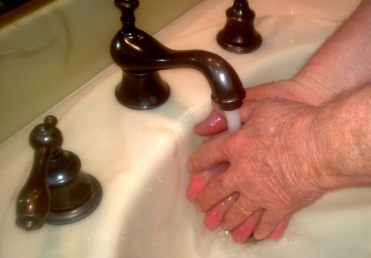 Hands Washing Photo
